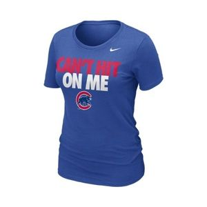 """Nike Cubs """"Can't Hit On Me"""" T-Shirt"""